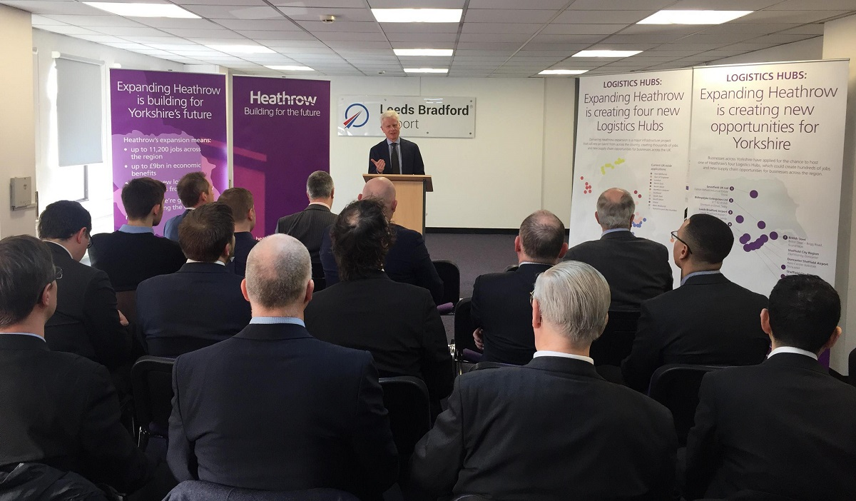 Heathrow Heads to Yorkshire to Kick Off Nationwide Tour of Longlisted Sites Bidding to Build New Runway